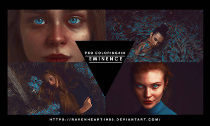 Psd coloring #35-Eminence by RavenHeart1989