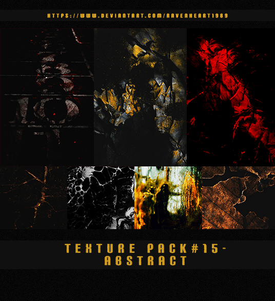 Texure pack #15-Abstract by RavenHeart1989