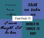 Font Pack #1