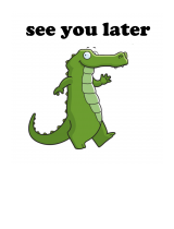 how to say see you later alligator in german