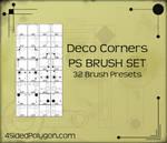 Deco Corners Brush Set