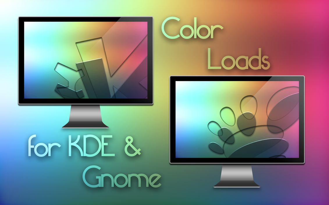 Color loads for KDE and Gnome by Pierre-Lagarde