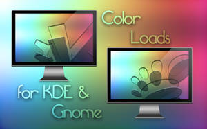 Color loads for KDE and Gnome