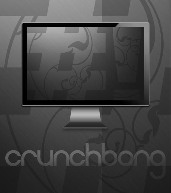 Crunchbang Wallpaper by Pierre-Lagarde