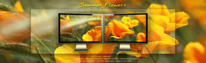 Summer Flowers Wallpaper Pack