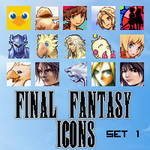 Final Fantasy Icons - Set 1