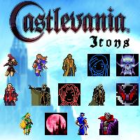 Castlevania Icon Set by UltimeciaFFB