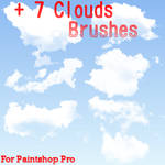 Clouds Brushes Set 2