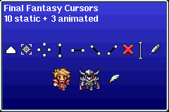 Final Fantasy - Cursors by UltimeciaFFB