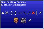 Final Fantasy - Cursors