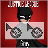Justice League Cursor - Gray by UltimeciaFFB