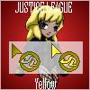 Justice League Cursor - Yellow by UltimeciaFFB
