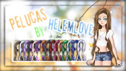 Pelucas By Helemlove 02 | Juliette de Eldarya by Helemlove