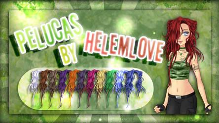 Pelucas By Helemlove 04 | Lena de Eldarya by Helemlove