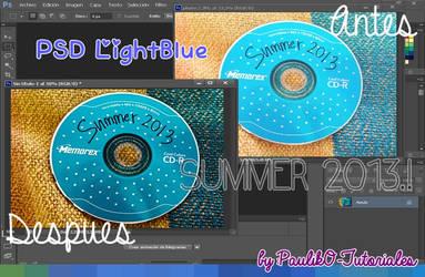 PSD LightBlue CD
