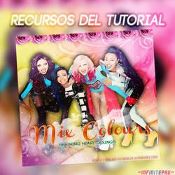 Recursos del Tutorial. Mix Colours by PaulikO-Tutoriales