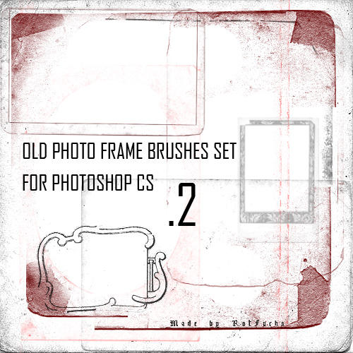 Old Photo Frame Brushes 2 by RotFuchs on deviantART
