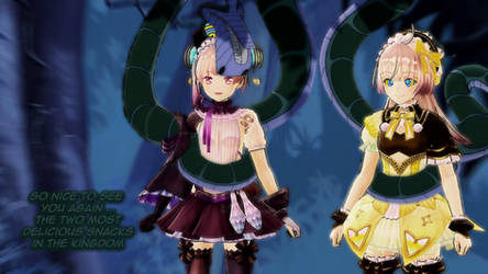 Kaa and Lydie and Suelle