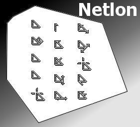 Netlon Koleksi cursor cantik