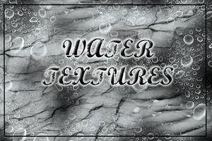 Water Textures Brush Set by ahmad0410