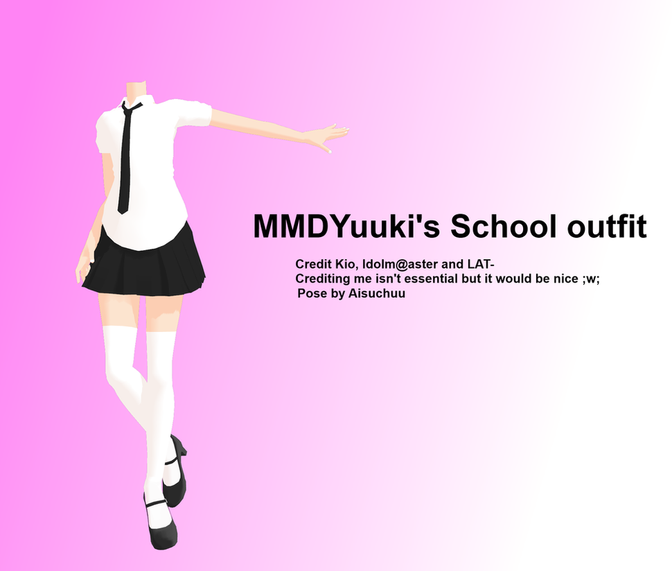School outfit DL by MMDYuuki