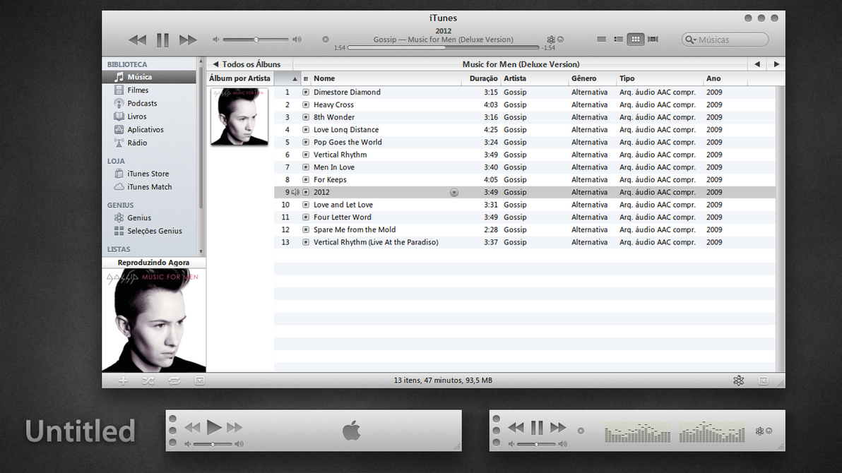 Untitled iTunes 10 for Windows by 1davi