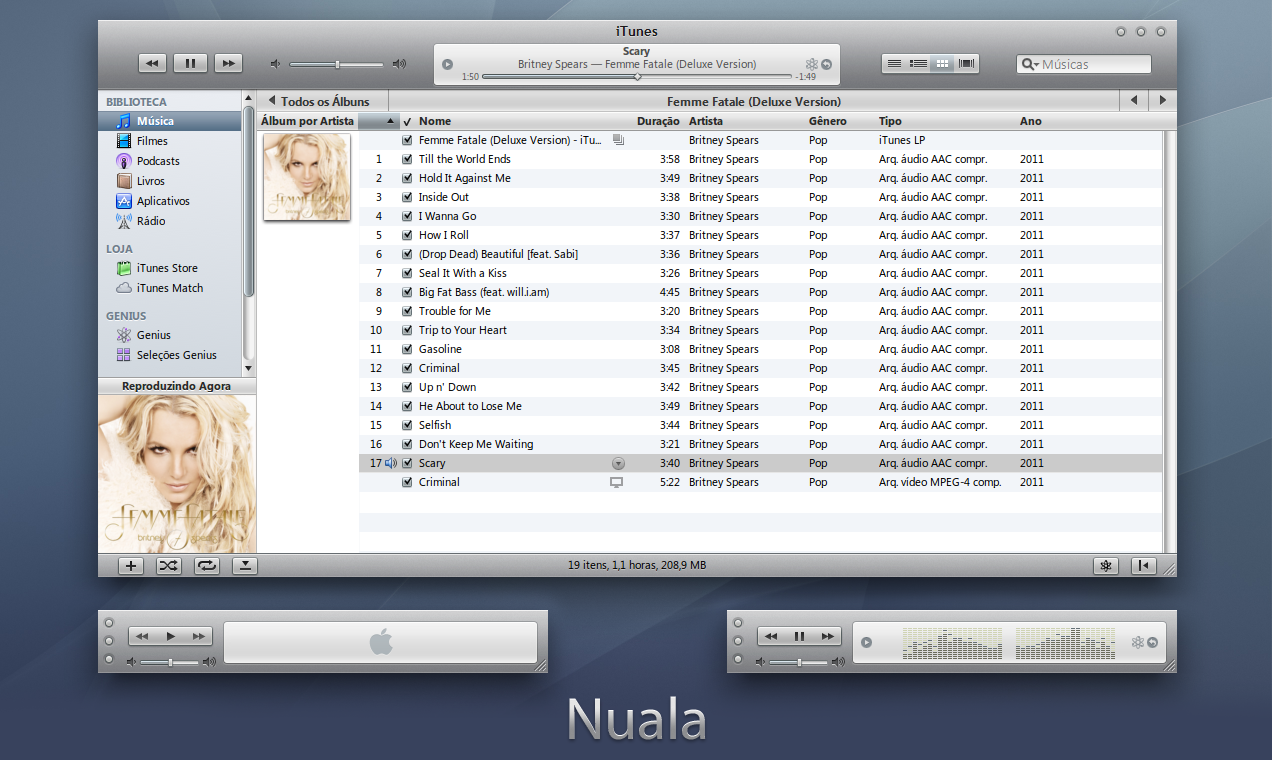 Nuala iTunes 10 for Windows by 1davi on DeviantArt