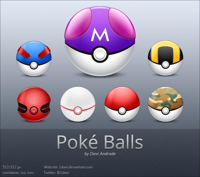 Poke Balls by 1davi