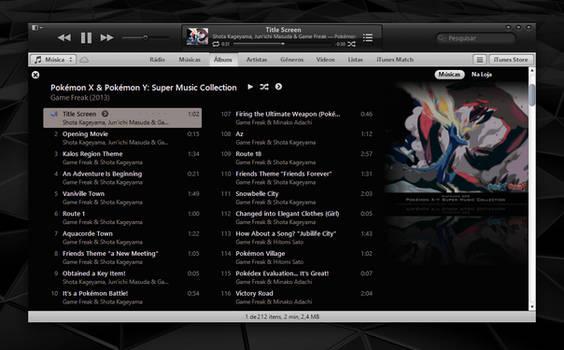 Dusk iTunes 11 for Windows