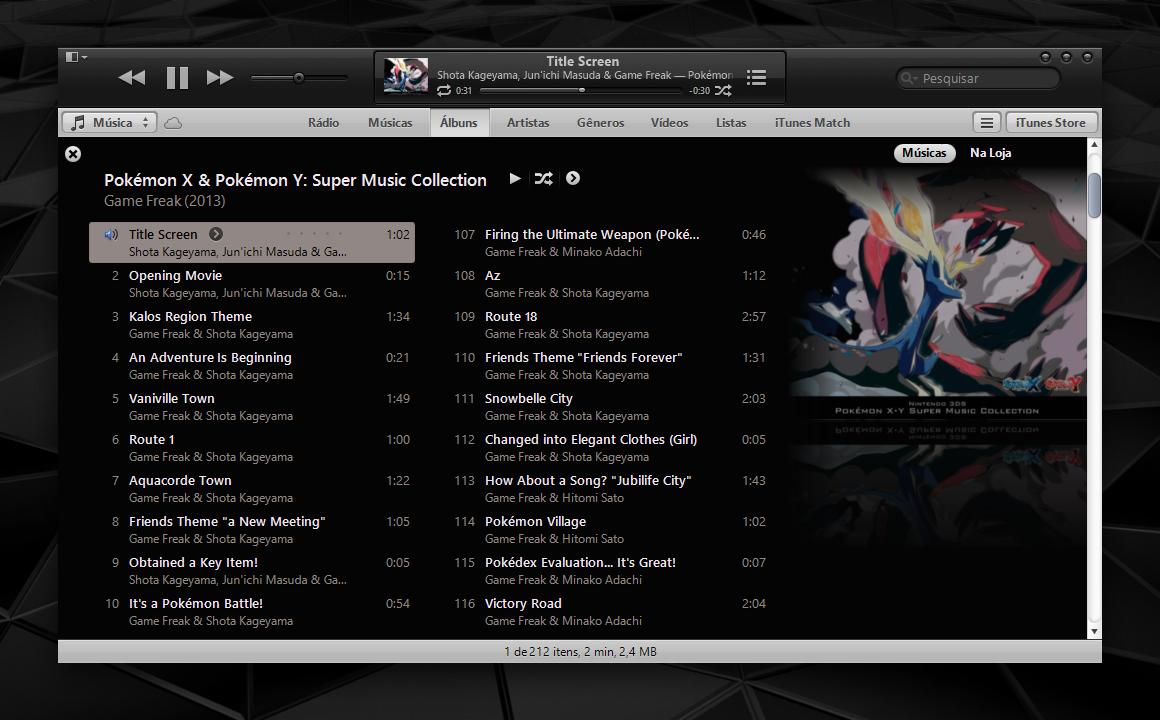 Dusk iTunes 11 for Windows by 1davi
