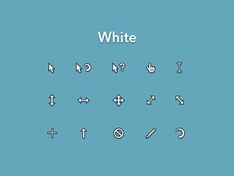White Cursor