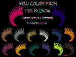 New Color Set for Incendia by Tate27kh