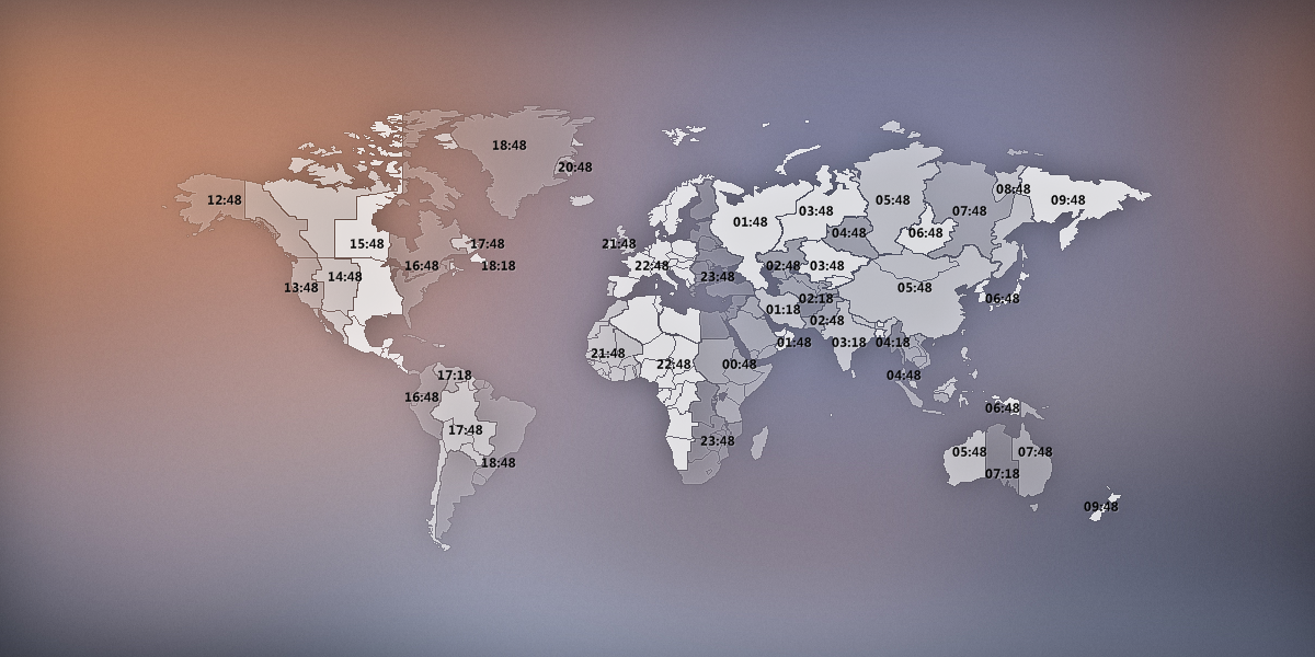 World time zone map by yahibazou on deviantart world time zone map by yahibazou gumiabroncs Image collections