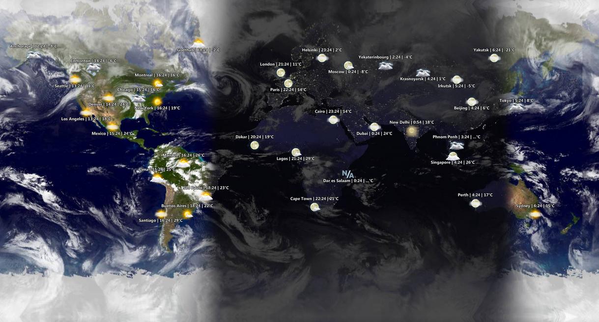 World Sunlight Map By YahibazOu On DeviantArt - World sunlight map