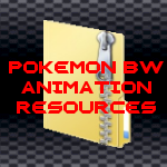 Pokemon BW Animation Resources by DragonDePlatino