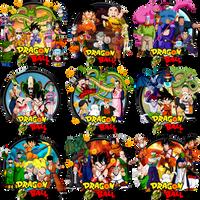 Dragonball Saga Complete Icon Set