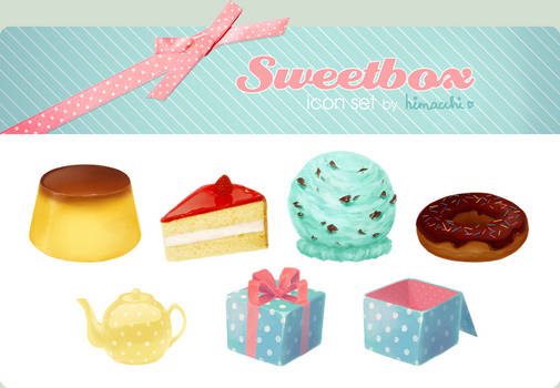 Sweetbox icon set