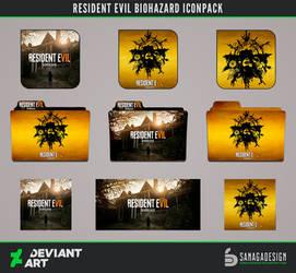 Resident Evil Biohazard Icons pack