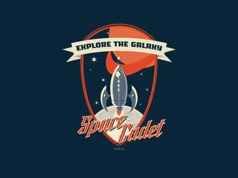 Space Cadet Desktop Wallpaper by cogwurx