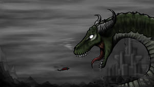 Castle Wallpaper - Dragon by Ecfor