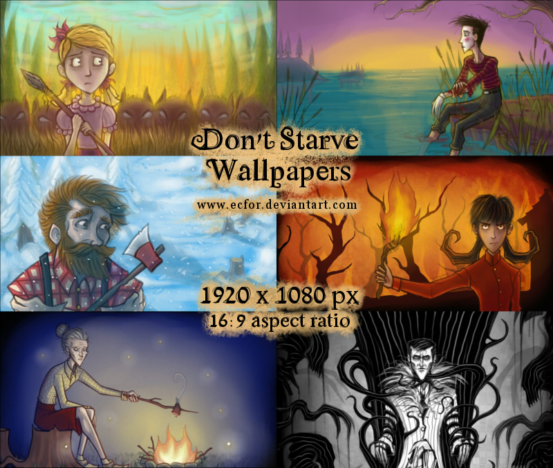Don't Starve - Wallpapers by Ecfor