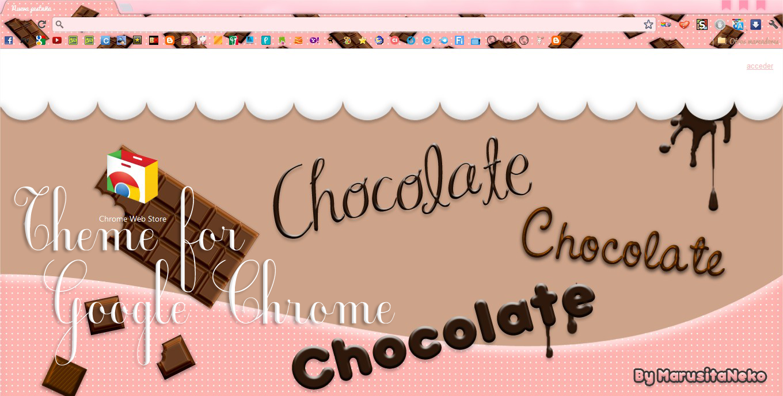 Google chrome theme infinite - Chocolate Theme Google Chrome N N By Marusitaneko