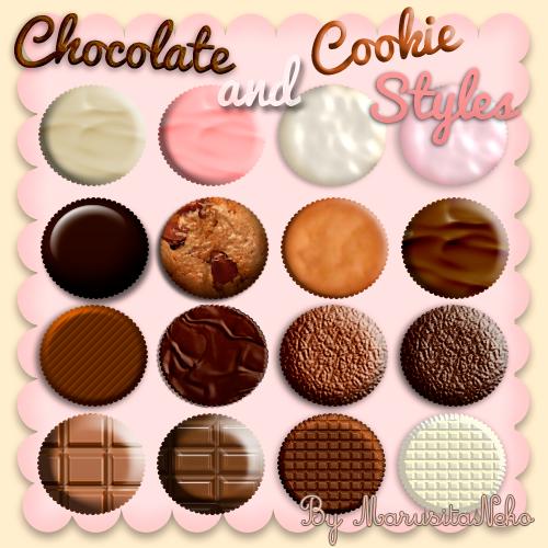 ستايلات شوكولاتة Chocolate_and_cookies_styles_n_n_by_marusitaneko-d4zjumw