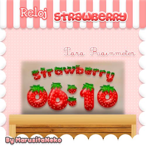 Reloj Strawberry =3 by marusitaneko