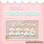 Reloj Marshmallow *w*