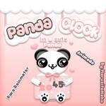 Panda Clock Animado OwO