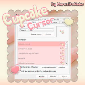 Cupcake Cursor n.n Mi 1er cursor OwO