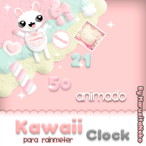Kawaii Esquinita Clock animado OwO by marusitaneko