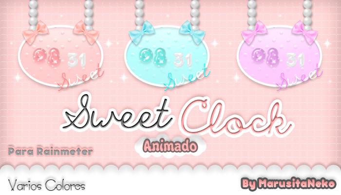 Sweet Clock Animado *w* by marusitaneko