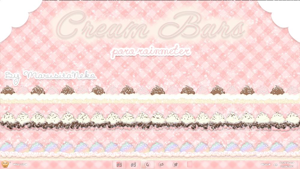 Cream Bars :3 by marusitaneko